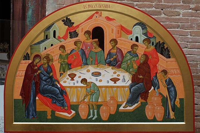 Maria la nunta din Cana