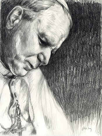 john_paul_ii_pencil