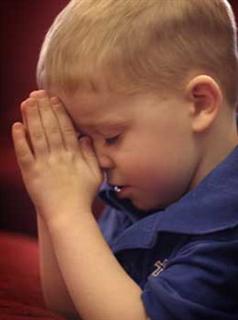 copil în rugăciune