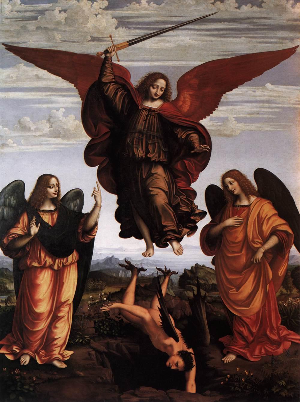 marco-d-oggiono-the-three-archangels
