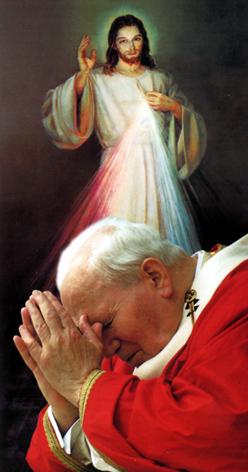 Ioan Paul si Divina milostivire