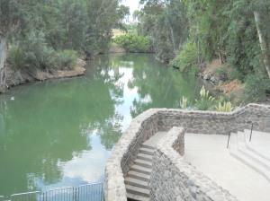 Râul Iordan - locul botezului lui Isus