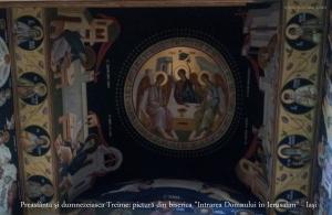 Biserica Intrarea Domnului in Ierusalim _interior sfanta Treime