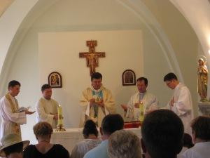 Sfanta Liturghie la Nazaret