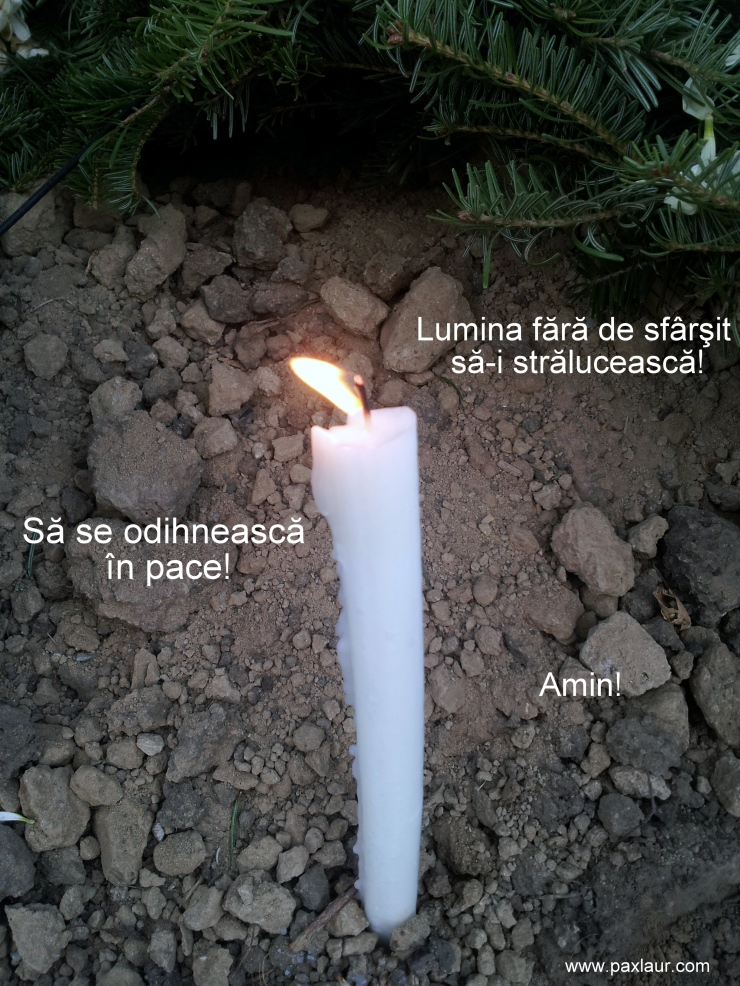 Sa se odihneasca in pace