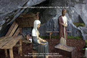 Impreună cu Maria și Iosif așteptăm venirea Domnului
