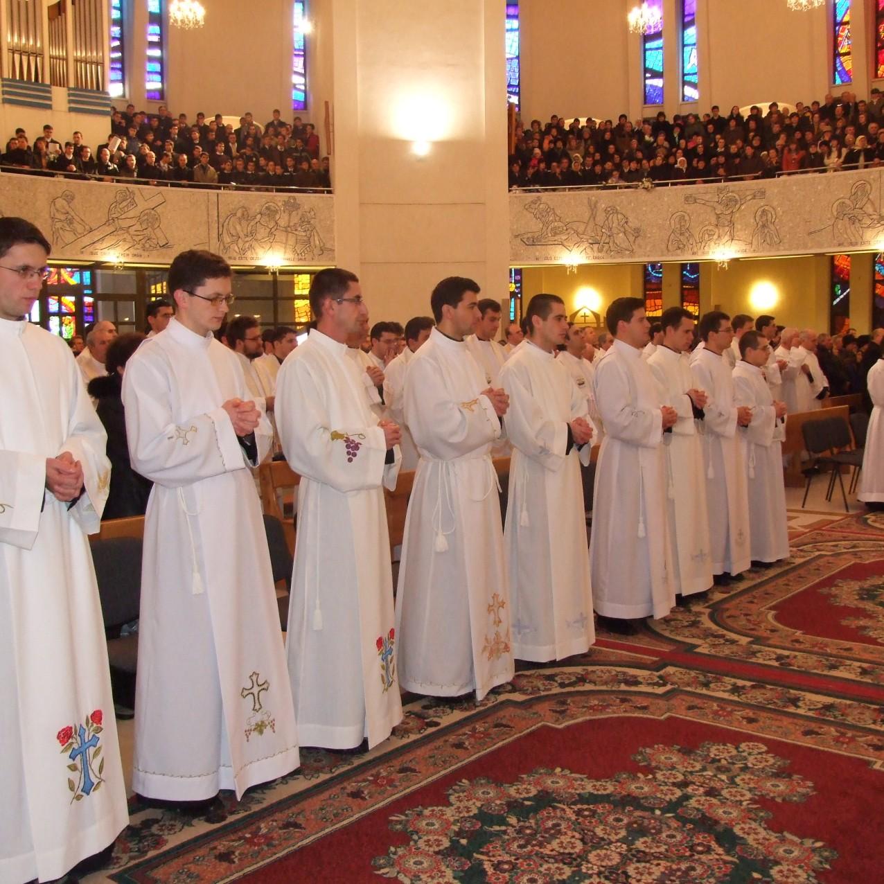 Sfanta Liturghie de hirotonire intru diaconat