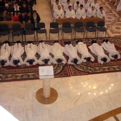 Sfanta Liturghie de hirotonire intru diaconat_invocarea tuturor sfintilor