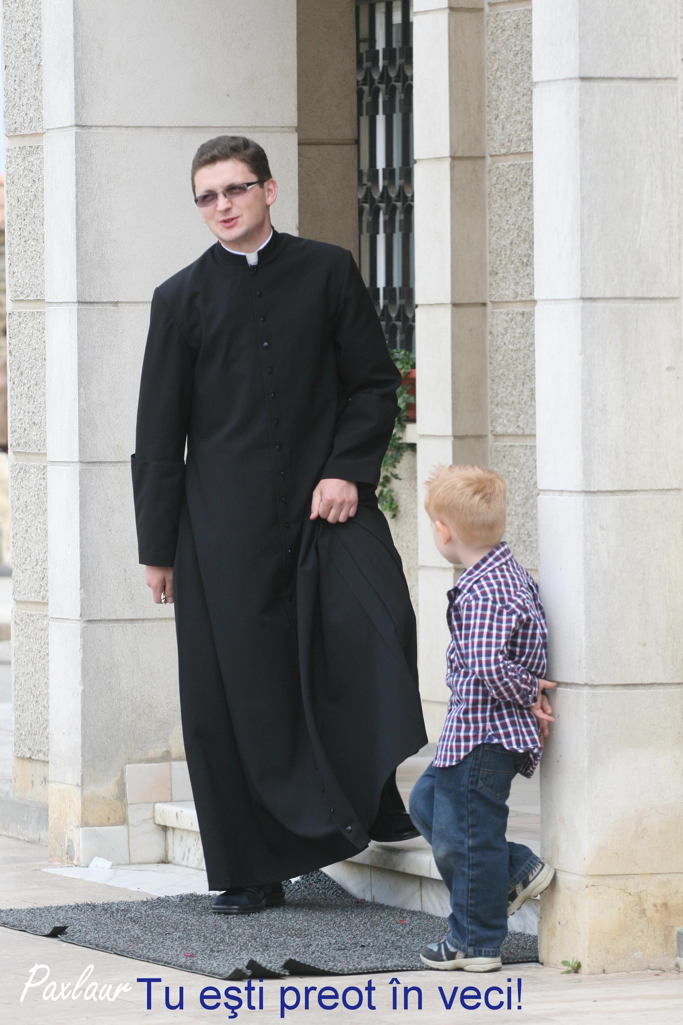 Tu esti preot in veci