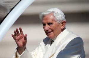 Sfantul parinte papa Benedict al XVI-lea
