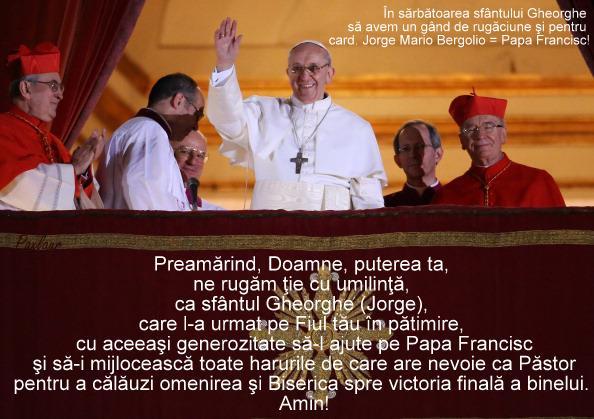 Papa Jorge Mario Bergoglio_Gheroghe