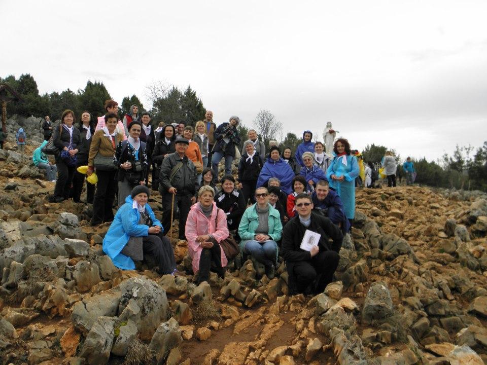 pelerini la Medjugorje aprilie 2013