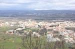 Medjugorje vazut de pe muntele Krizevac