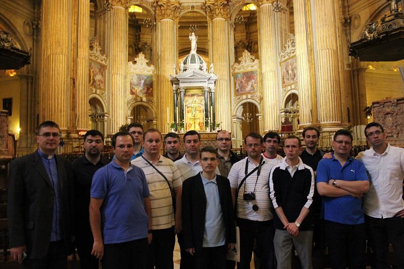 Malaga Catedrala grupul