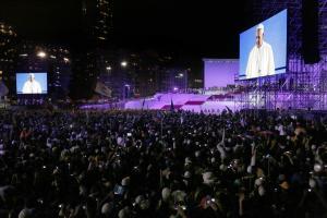 Papa Francesco a Copacabana