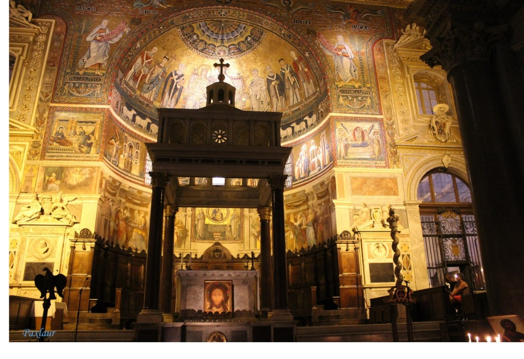 Basilica Santa Maria in Trastevere_altarul