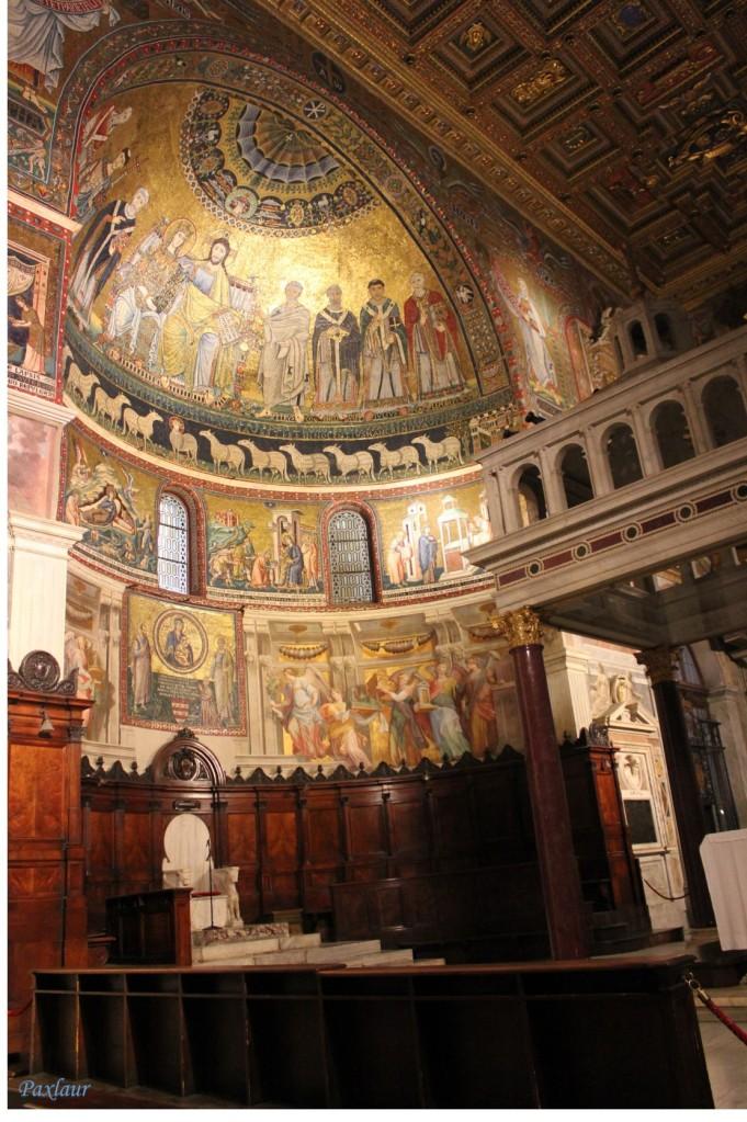 Basilica Santa Maria in Trastevere_altarul_a