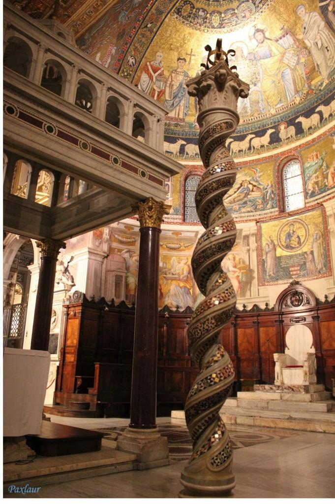 Basilica Santa Maria in Trastevere_altarul_b
