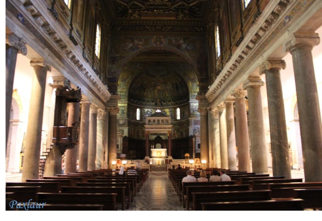 Basilica Santa Maria in Trastevere_interior