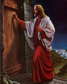 Isus la usa inimii
