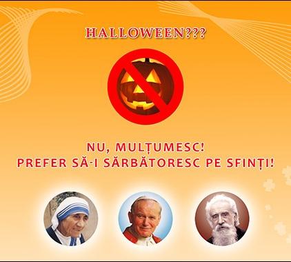Halloween sau sfintii