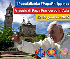 Papa Francesco in Sri Lanka e Filipine 2015