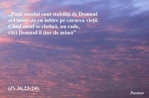Psalmul 36 Domnul ma tine de mana