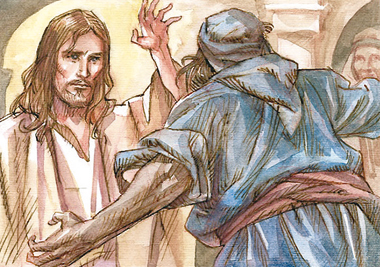 Isus si posedatul _ exorcism_demon