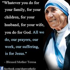 Sfanta Tereza si Familia