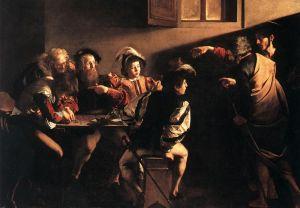 caravaggio-chemarea lui Matei