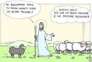 il-buon-pastore Isus bunul pastor
