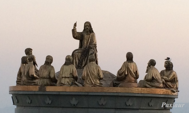 Isus Domnul si invatatorul ucenicilor_muntele fericirilor