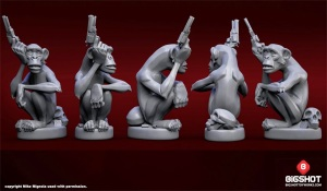 Maimuta si armele