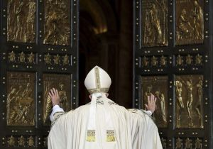 deschiderea portii sfinte in Vatican