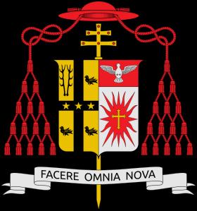 Stema cardinalului Adam Joseph Maida
