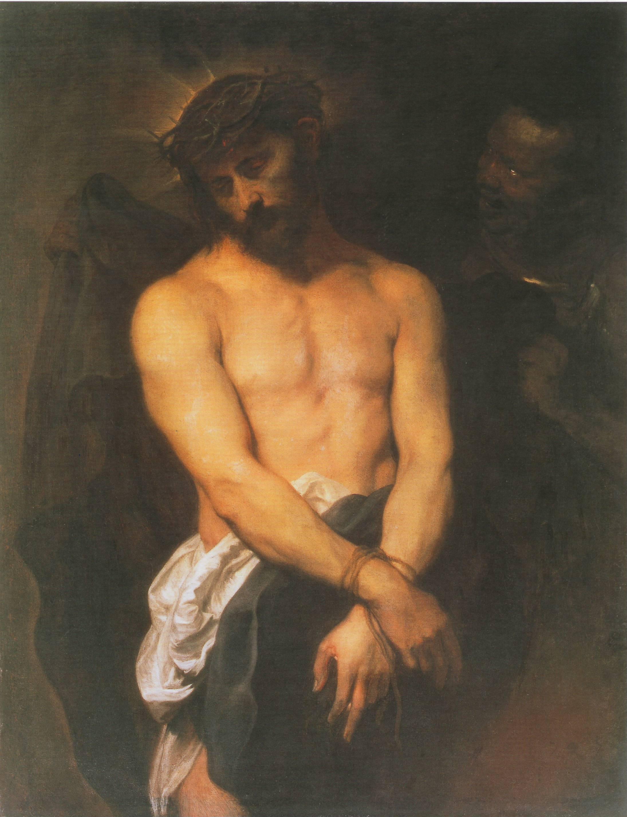 Ecce Homo (1625-1626) de Antonie van Dyck_Università di Birmingham