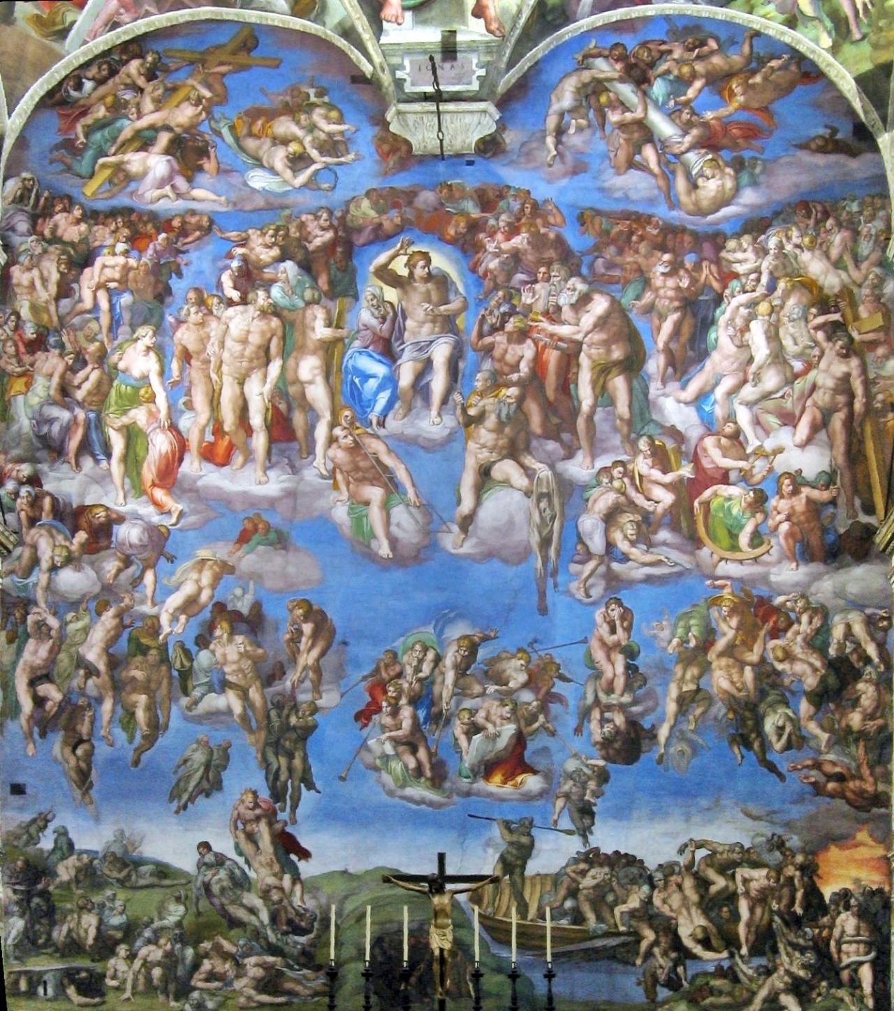 Judecata_universala_Michelangelo_Buonarroti_-_Il_Giudizio_Universale
