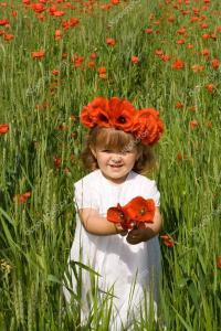bucuria vietii_copil_flori