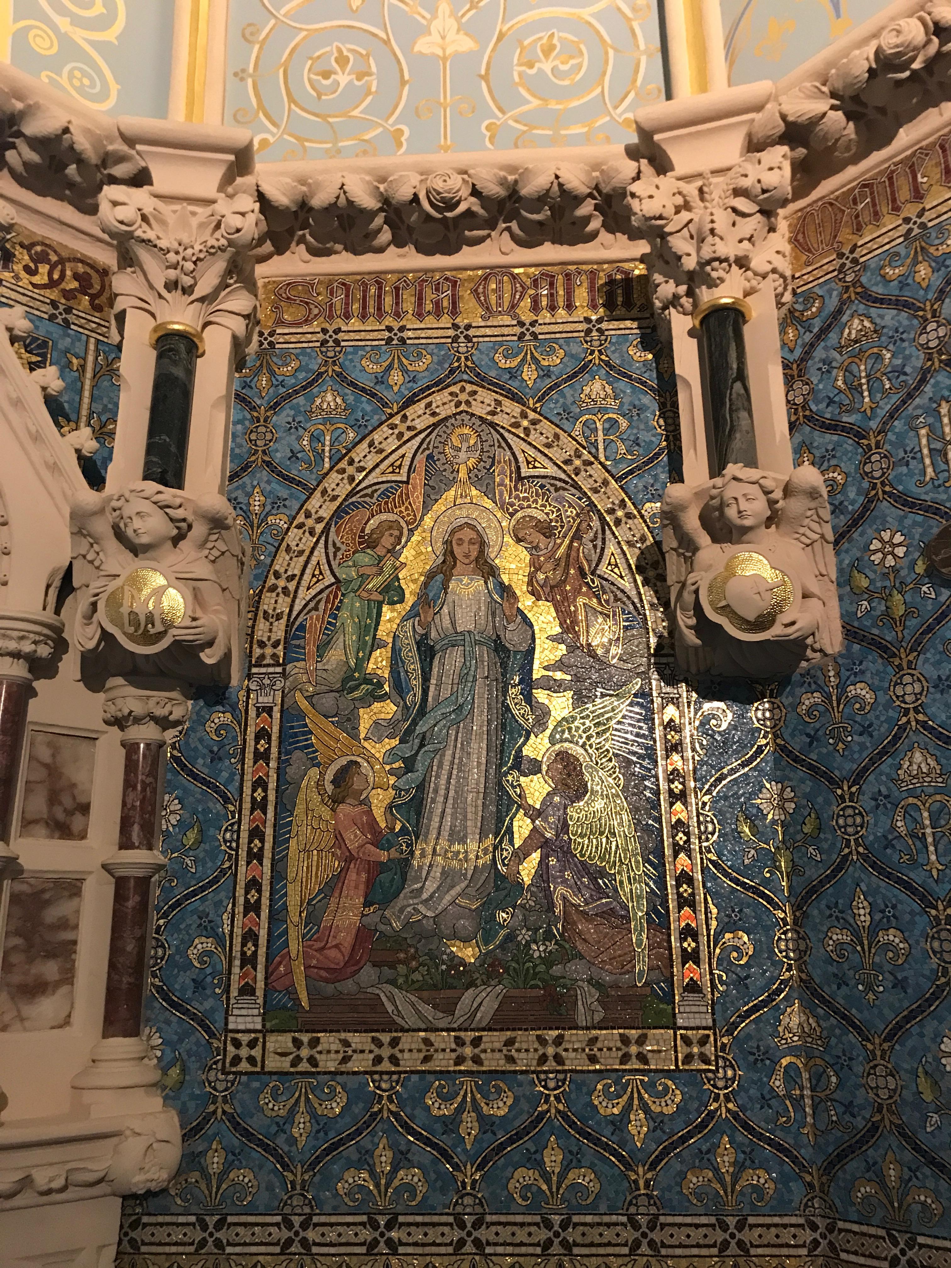 Adormirea Maicii Domnului _ Capela seminarului din Maynooth (Irlanda)