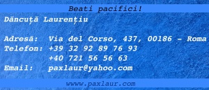Adresa blog paxlaur