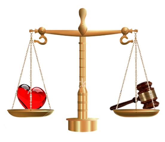 dreptate milostivire balanta