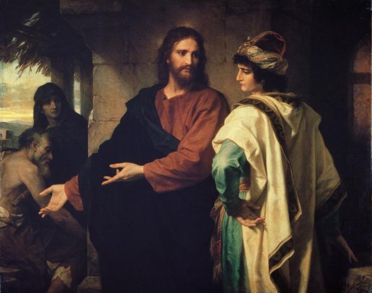 Isus si tanarul bogat