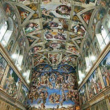 Arta iubire mantuire Roma Vatican capela sixtina