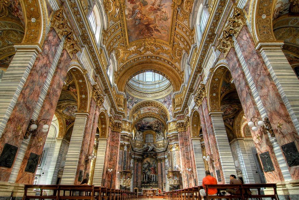 bazilica sfantul Carol Roma