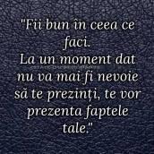 fii bun mereu_bunatate_statornicie