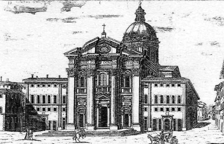 Roma Basilica S Carlo al Corso