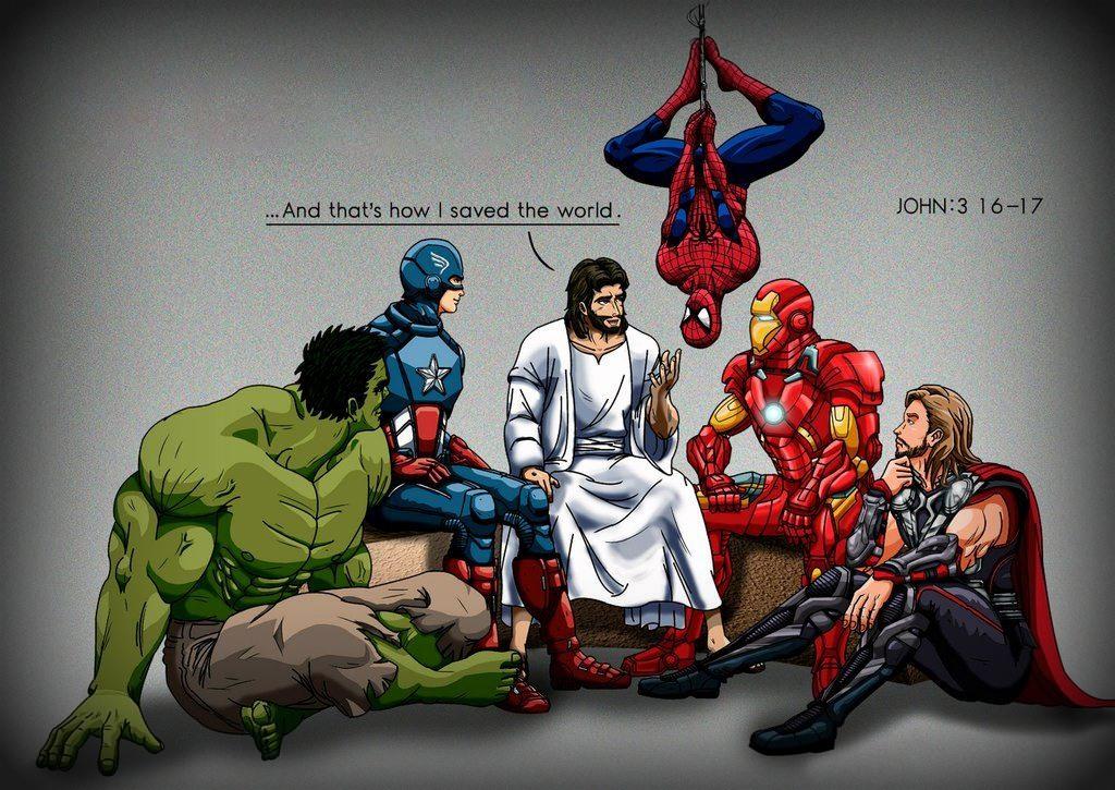 Isus si supereroii