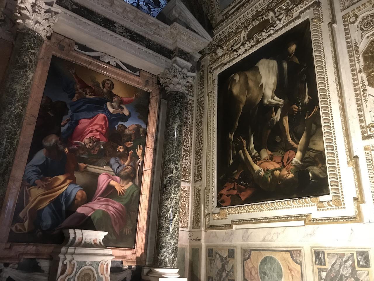 Caravaggio_1601_Convertirea sfantului Paul