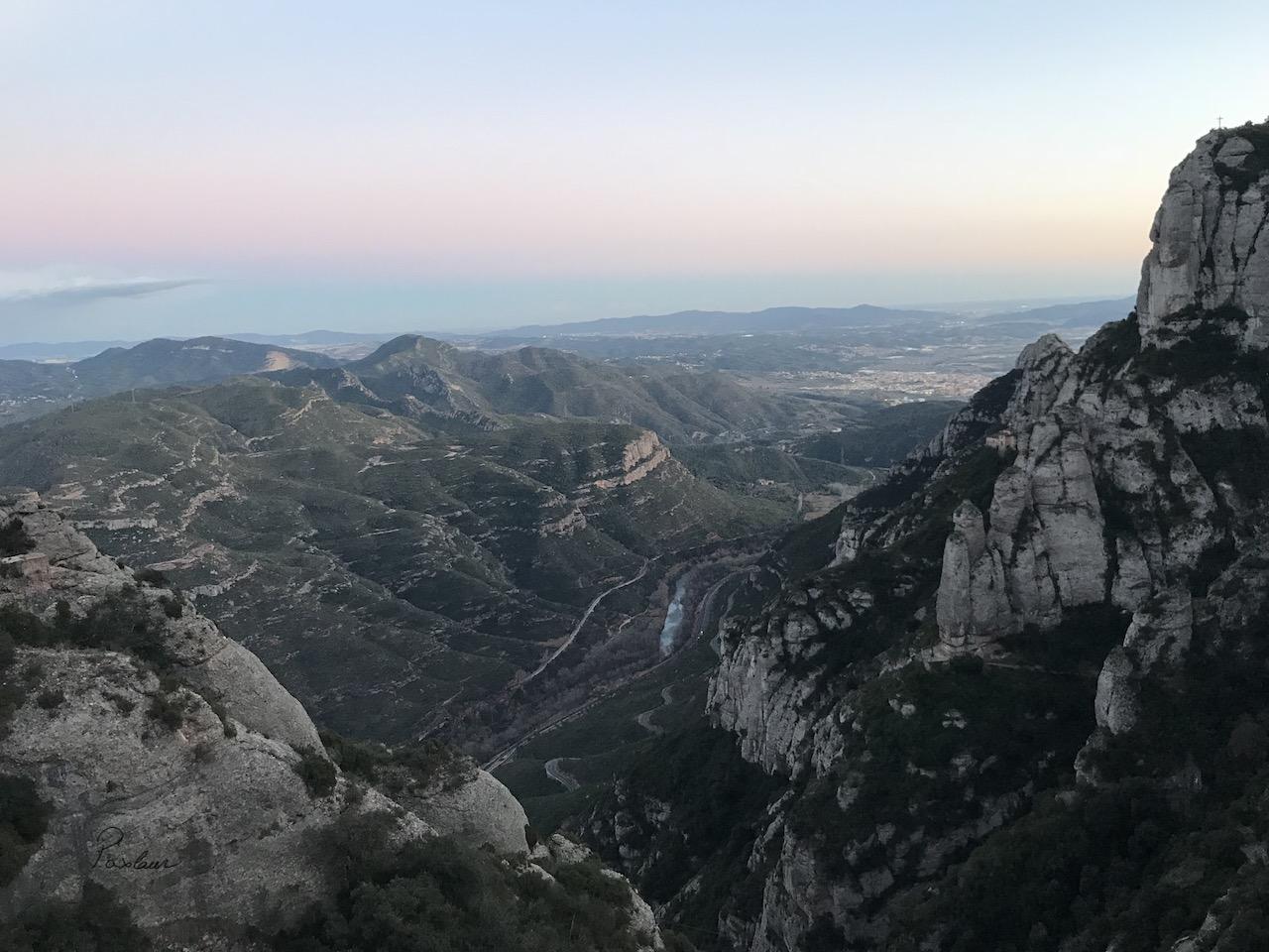 Monserrat - munte manastire inaltime