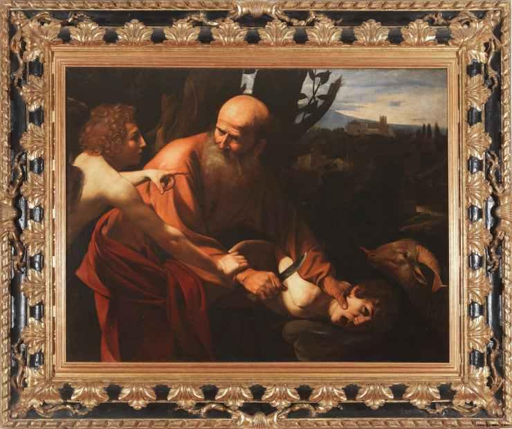 Caravaggio - Sacrificarea lui Isaac (1603)